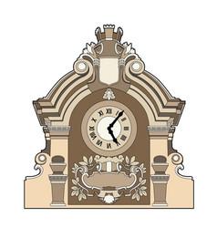 Big clock vector
