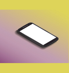 Smartphone mock up vector