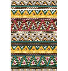 Tribal striped seamless pattern geometric vector