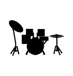 Drummer music instrument vector
