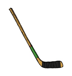 hockey stick vector image vector image