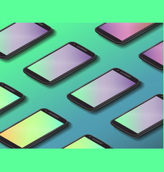 smartphone backround design vector image