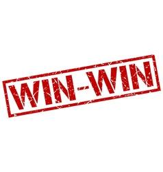 Win-win stamp vector