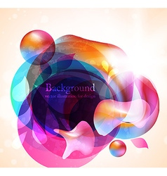 Abstract background in color vector