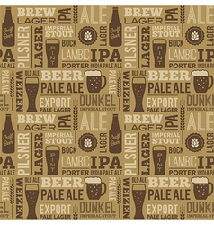 Beer pattern 01 vector