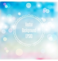 Blurred spring or summer abstract background in vector