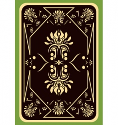 playing card vector image