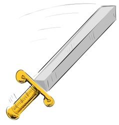 Sword icon vector image
