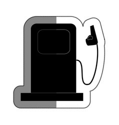station service isolated icon vector image