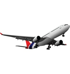 airlpane vector image
