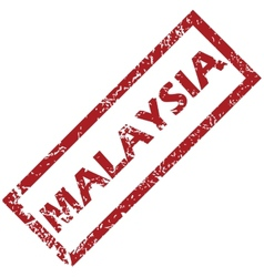 New malaysia rubber stamp vector