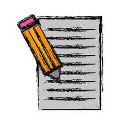 pencil icon image vector image