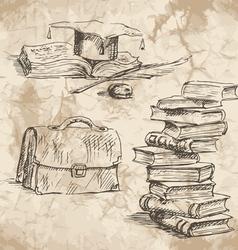 SchoolWorkplace02 vector image