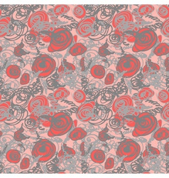 Seamless doodle pattern vector