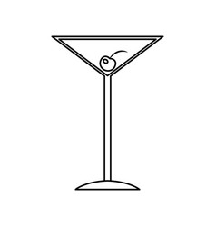 alcoholic drink cocktail beverage bar liquor vector image