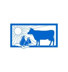 Dairy-Logo-380x400 vector image vector image