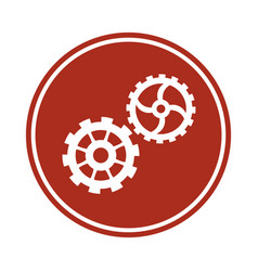 Gears team work cooperation wheels cogs vector