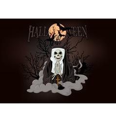 Horror nun vector image vector image