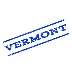 Vermont watermark stamp vector