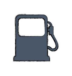 Petroleum fuel station vector