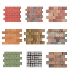 Paving stone vector