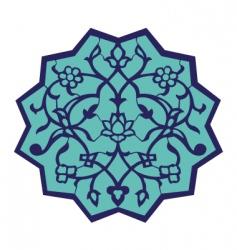 Ottoman motif vector