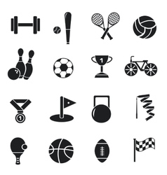 Concept of set lifestyle sports equipment vector