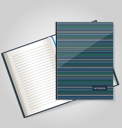 151016 notebook vector image