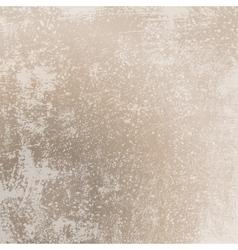 Grunge scratched beige texture vector