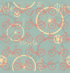 bicycle-list-02 vector image vector image