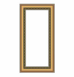 Elongated frame vector