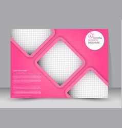 flyer brochure billboard template landscape vector image