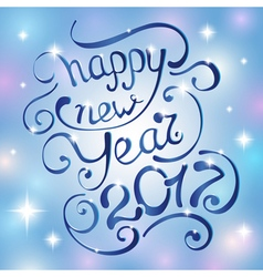 Happy new Year 2017 vector image