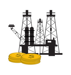 oil industry design vector image