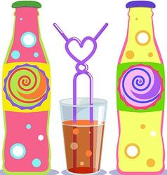 pop soda vector image vector image