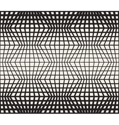 Seamless Black And White Retro Geometric vector image vector image