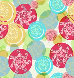 Seamless pattern background EPS10 vector image vector image