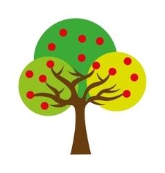 tree ecology symbol icon vector image vector image