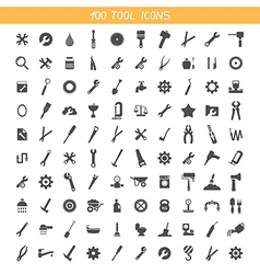 Collection tool icons vector