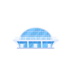 modern sports stadium isolated icon vector image vector image