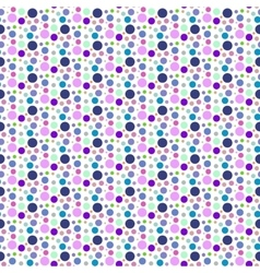 Purple dotted and circular seamless pattern vector image vector image