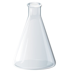 Triangle Flask vector image