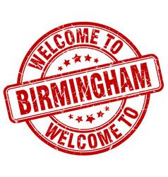 Welcome to birmingham vector