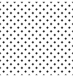 Abstract crosses seamless pattern background vector
