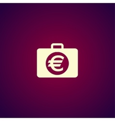Financial icon flat design style vector