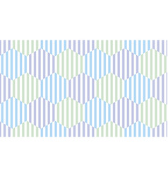 the simple summer pattern with stripes vector image vector image