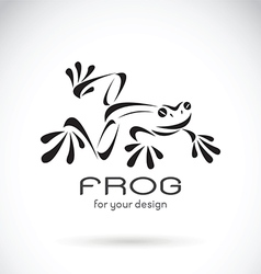 Image of a frog design vector