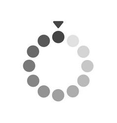 Loading bar flat icon sign symbol vector