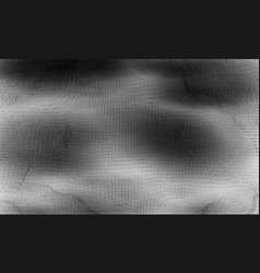 abstract big data visualization vector image