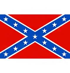 American confederate flag vector